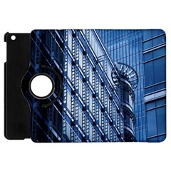 Building Architectural Background Apple iPad Mini Flip 360 Case