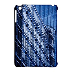 Building Architectural Background Apple iPad Mini Hardshell Case (Compatible with Smart Cover)