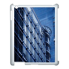 Building Architectural Background Apple Ipad 3/4 Case (white)
