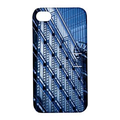 Building Architectural Background Apple iPhone 4/4S Hardshell Case with Stand