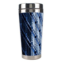 Building Architectural Background Stainless Steel Travel Tumblers