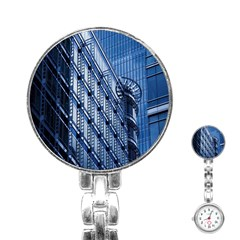 Building Architectural Background Stainless Steel Nurses Watch
