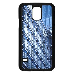 Building Architectural Background Samsung Galaxy S5 Case (black)