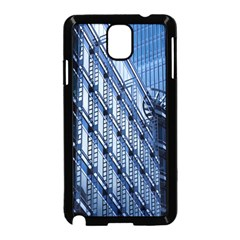Building Architectural Background Samsung Galaxy Note 3 Neo Hardshell Case (Black)
