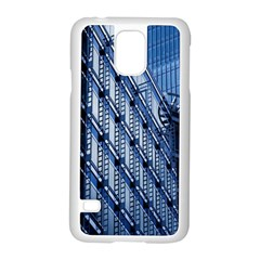 Building Architectural Background Samsung Galaxy S5 Case (white)
