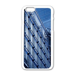 Building Architectural Background Apple Iphone 6/6s White Enamel Case