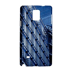 Building Architectural Background Samsung Galaxy Note 4 Hardshell Case