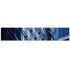 Building Architectural Background Flano Scarf (Large)