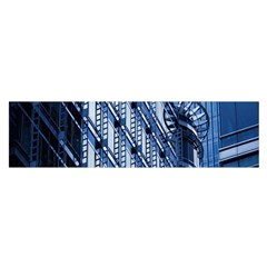 Building Architectural Background Satin Scarf (Oblong)