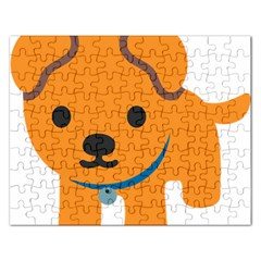 Dog Rectangular Jigsaw Puzzl