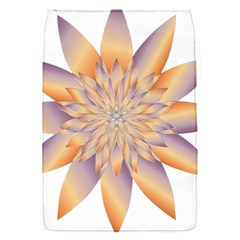 Chromatic Flower Gold Star Floral Flap Covers (s)