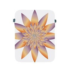 Chromatic Flower Gold Star Floral Apple Ipad 2/3/4 Protective Soft Cases
