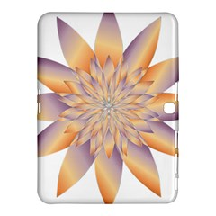 Chromatic Flower Gold Star Floral Samsung Galaxy Tab 4 (10.1 ) Hardshell Case