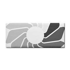 Flower Transparent Shadow Grey Cosmetic Storage Cases