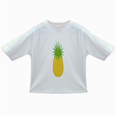 Fruit Pineapple Yellow Green Infant/toddler T Shirts
