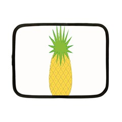 Fruit Pineapple Yellow Green Netbook Case (Small)