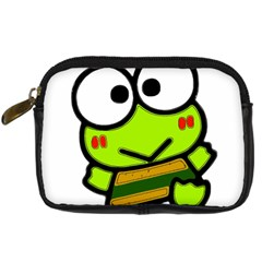Frog Green Big Eye Face Smile Digital Camera Cases