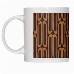 Chains Abstract Seamless White Mugs