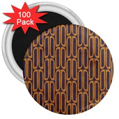 Chains Abstract Seamless 3  Magnets (100 pack)