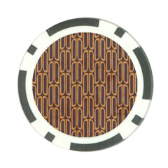 Chains Abstract Seamless Poker Chip Card Guard