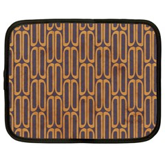 Chains Abstract Seamless Netbook Case (xl)