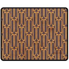 Chains Abstract Seamless Fleece Blanket (medium)