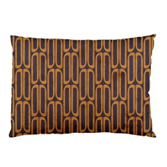 Chains Abstract Seamless Pillow Case (Two Sides)