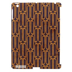 Chains Abstract Seamless Apple iPad 3/4 Hardshell Case (Compatible with Smart Cover)