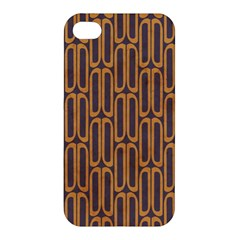 Chains Abstract Seamless Apple iPhone 4/4S Premium Hardshell Case