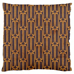 Chains Abstract Seamless Large Cushion Case (one Side)