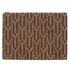 Chains Abstract Seamless Cosmetic Bag (XXL)