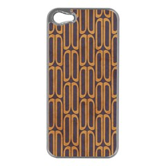 Chains Abstract Seamless Apple iPhone 5 Case (Silver)