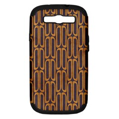 Chains Abstract Seamless Samsung Galaxy S III Hardshell Case (PC+Silicone)