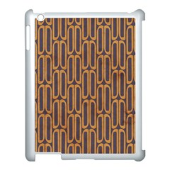Chains Abstract Seamless Apple iPad 3/4 Case (White)
