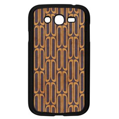 Chains Abstract Seamless Samsung Galaxy Grand DUOS I9082 Case (Black)
