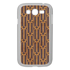Chains Abstract Seamless Samsung Galaxy Grand Duos I9082 Case (white)