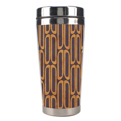 Chains Abstract Seamless Stainless Steel Travel Tumblers