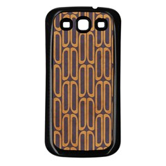 Chains Abstract Seamless Samsung Galaxy S3 Back Case (Black)