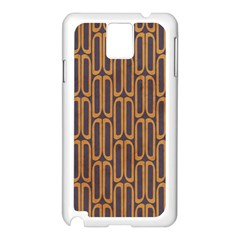 Chains Abstract Seamless Samsung Galaxy Note 3 N9005 Case (White)