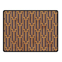 Chains Abstract Seamless Double Sided Fleece Blanket (Small)