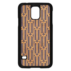 Chains Abstract Seamless Samsung Galaxy S5 Case (black)