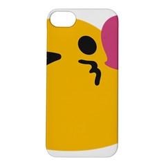 Happy Heart Love Face Emoji Apple iPhone 5S/ SE Hardshell Case