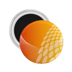 Abstract Orange Background 2 25  Magnets