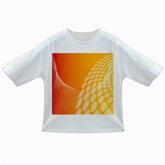 Abstract Orange Background Infant/toddler T Shirts