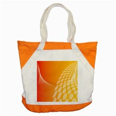 Abstract Orange Background Accent Tote Bag