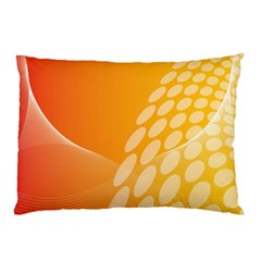 Abstract Orange Background Pillow Case