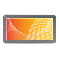 Abstract Orange Background Memory Card Reader (mini)