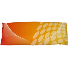 Abstract Orange Background Body Pillow Case Dakimakura (two Sides)