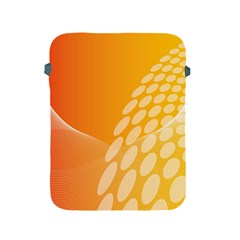 Abstract Orange Background Apple iPad 2/3/4 Protective Soft Cases