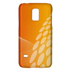 Abstract Orange Background Galaxy S5 Mini